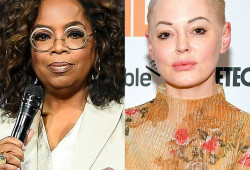 """Rose McGowan Calls Out Oprah Winfrey for Being as """"Faux as They Attain"""""""